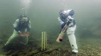 underwater cricket