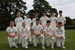 U15 team photo